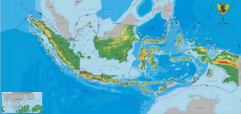 PETA INDONESIA 11