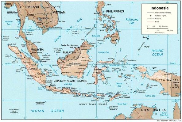 PETA INDONESIA 13