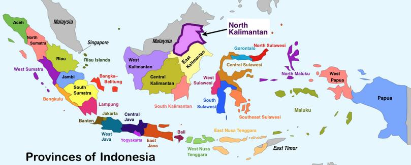 PETA INDONESIA 18