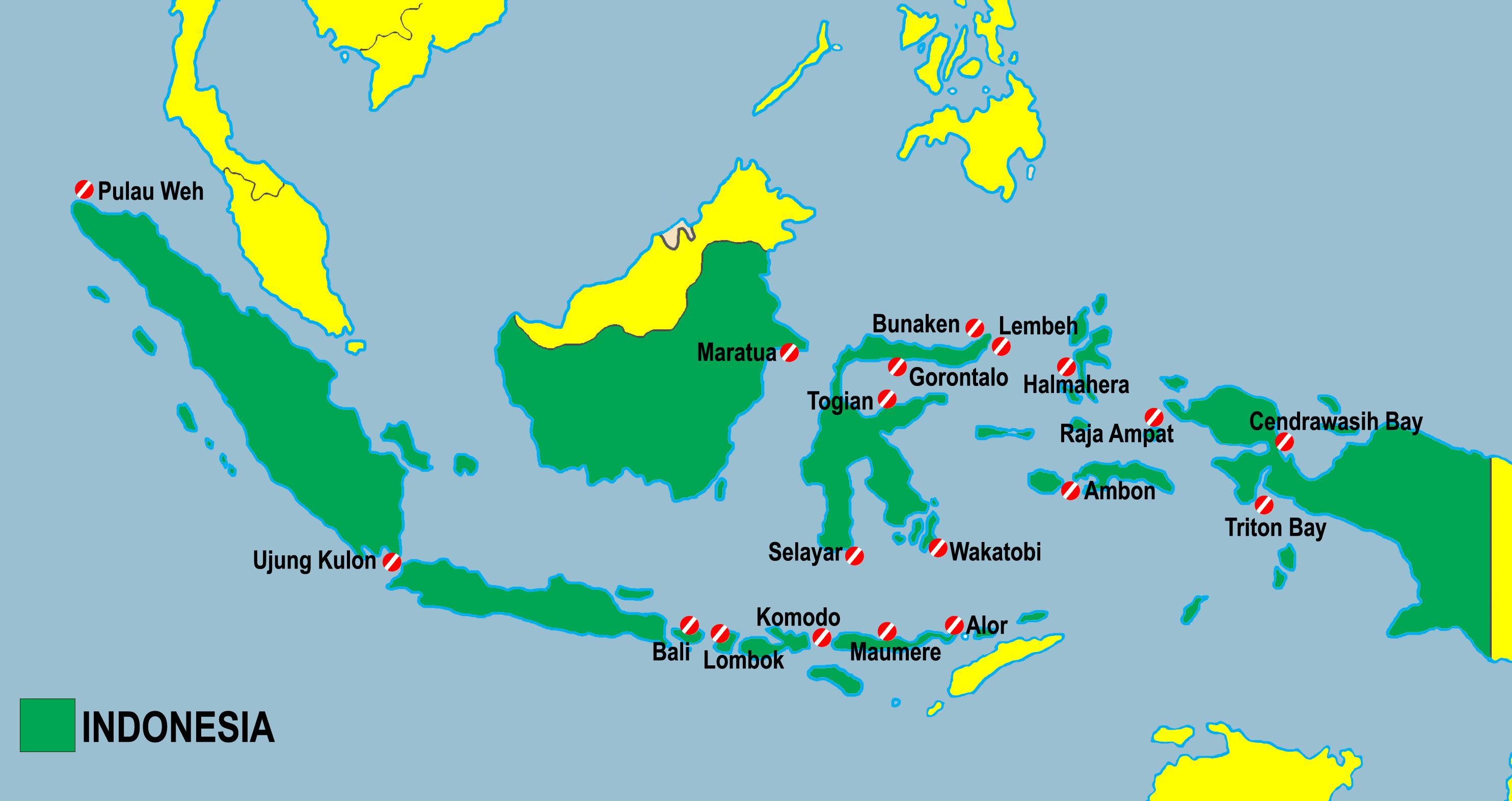 PETA INDONESIA 19