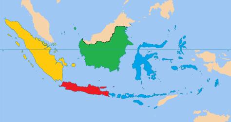 PETA INDONESIA 21