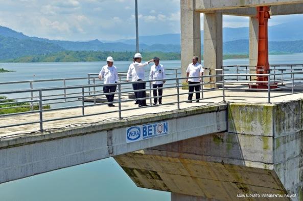 16-03-17_Presiden Joko Widodo Tinjau Waduk Jati Gede_Dam View-10-small