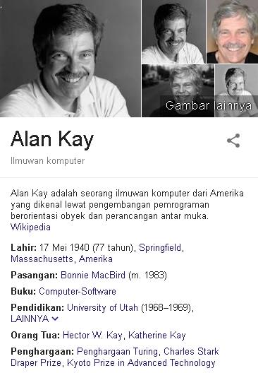 Alan Kay Biodata