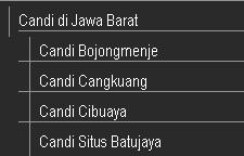 Candi di Jawa Barat