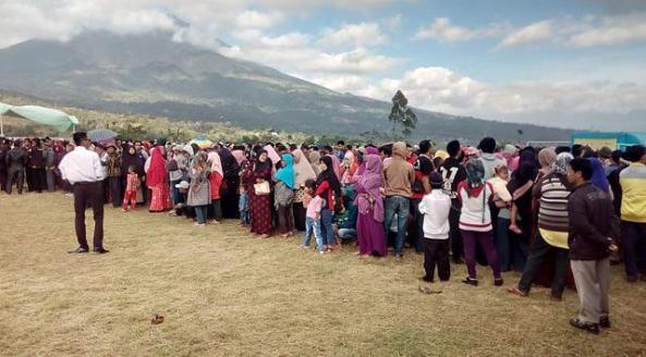 Pembagian sertifikat tanah gratis di Garut