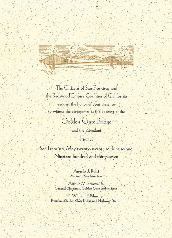 735px-Invitation_to_Golden_Gate_Bridge_opening,_1937