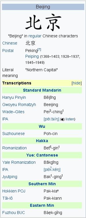 Beijing NAME