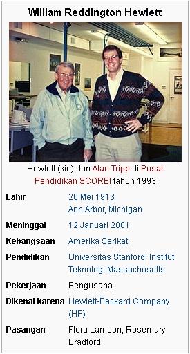 Bill Hewlett Data