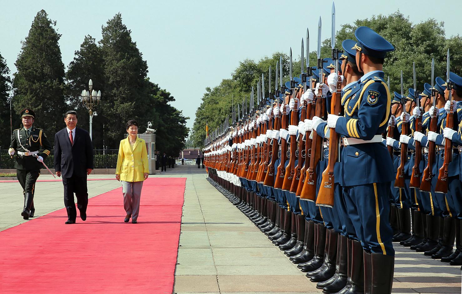 Korea_President_Park_China_Welcoming_Ceremony_20130627_01