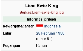 Liem Swie King