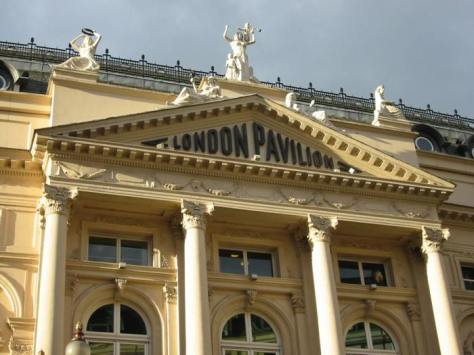 London-pavilion-facade