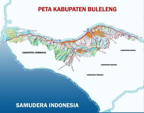 PETA PULAU BALI 005-Kabupaten Buleleng-2