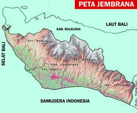 PETA PULAU BALI 007-Kabupaten Jembrana-1