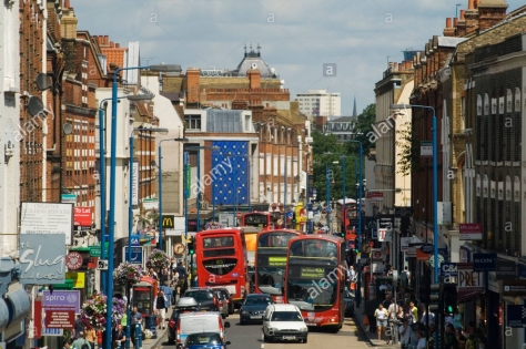 putney-high-street-london-england-homer-sykes-BCNBEF