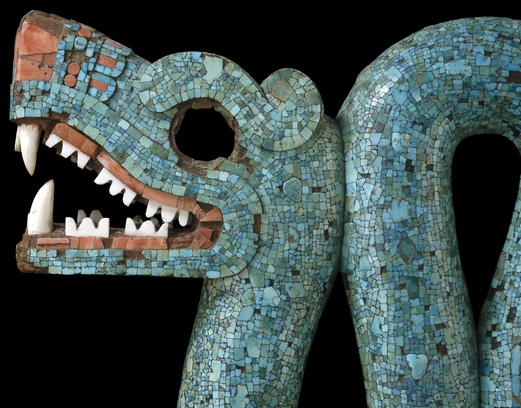 Aztec Serpent with Two Heads 2