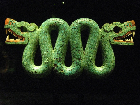 Aztec Serpent with Two Heads 4