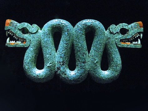 Aztec Serpent with Two Heads 5
