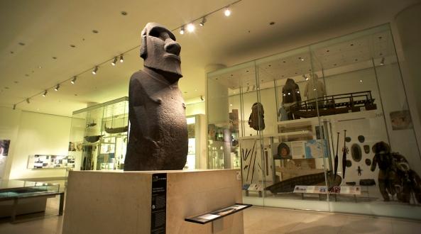 British Museum Hoa Hakananai'a London