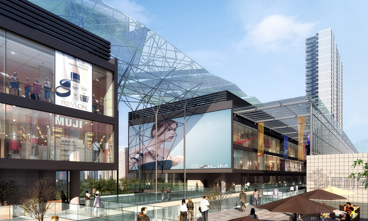 Hong-Kong-Large-shopping-mall-architectural-renderings