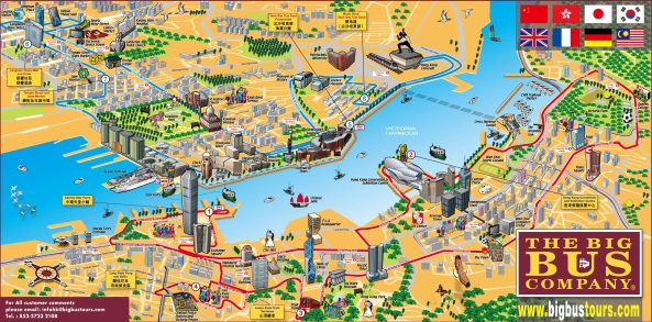 hong-kong-tourist-map