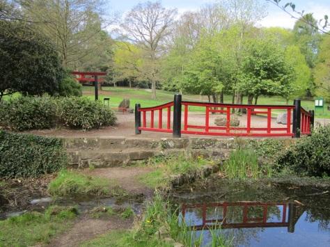 Japanese Garden - Acton Park Wrexham 1024X768