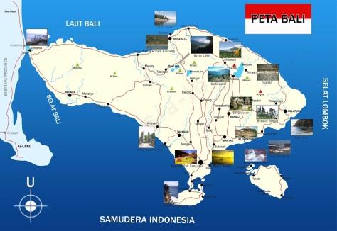 Peta-Bali