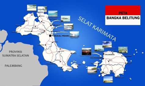 Peta-Bangka-Belitung