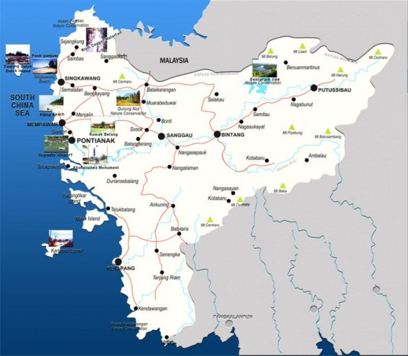 Peta-Kalimantan-Barat-768x671