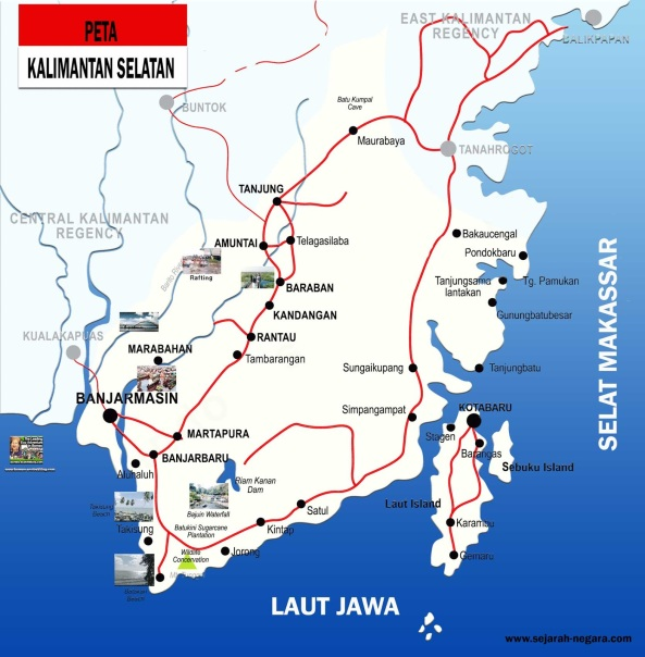 Peta-Kalimantan-Selatan