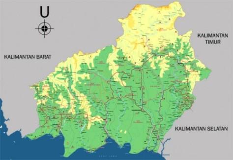 Peta-Kalimantan-Tengah-500x345