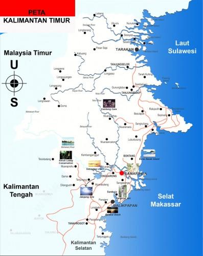 Peta-Kalimantan-Timur-397x500