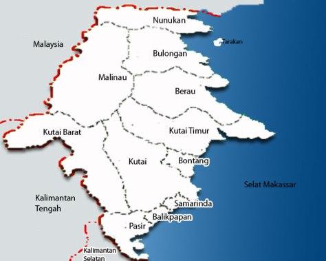 Peta-Kalimantan-Utara