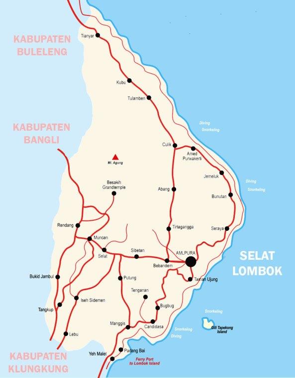 Peta-karangasem-Bali-Lengkap