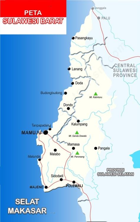 Peta-Sulawesi-Barat-Lengkap-6-Kabupaten