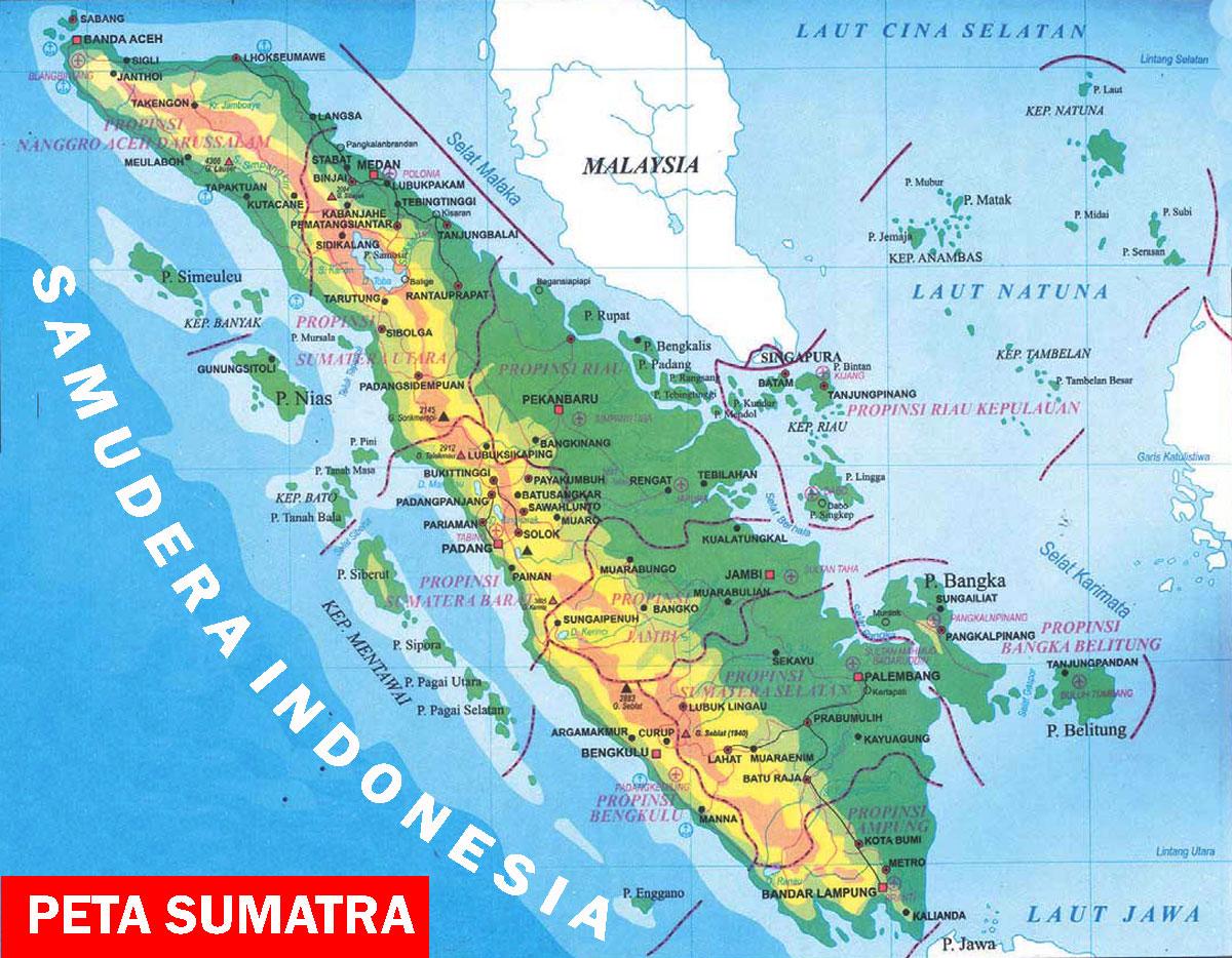 Peta Pulau Sumatera Andhika Personal Blog Gambar Jawa Ukuran Besar