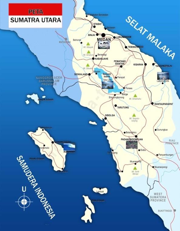 Peta-Sumatra-Utara