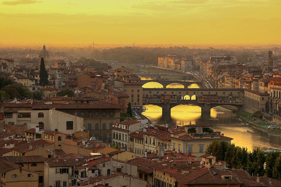 Ponte_Vecchio_at_Sunset