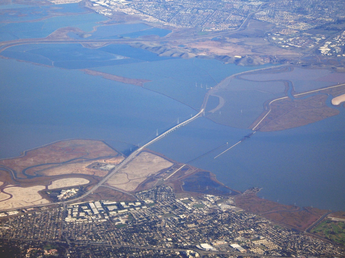 Dumbarton_Bridge_CA_from_the_air