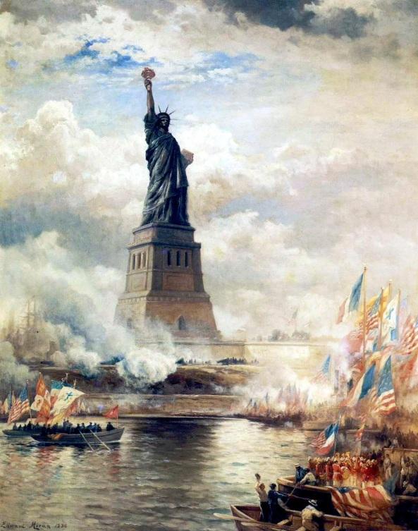 EdwardMoran-UnveilingTheStatueofLiberty1886Large (1)