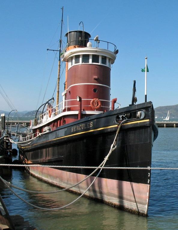 "Steam tug ""Hercules"", San Francisco Maritime Natl Hist Park"