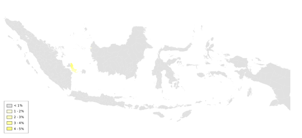 Konghucu_Indonesia_Percentage_Sensus2010.svg