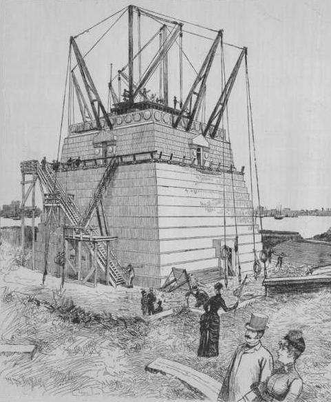 Pedestal_for_Bartholdi's_Statue_of_Liberty