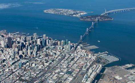 san-francisco-bay-bridge-aerial-photograph-john-daly