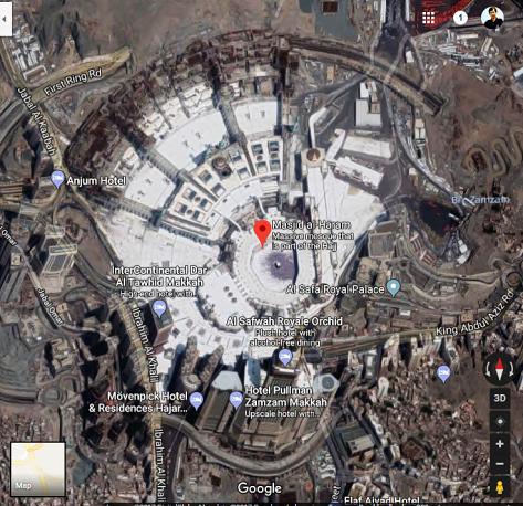 Al Haram Mosque – Macca, Saudi Arabia-01