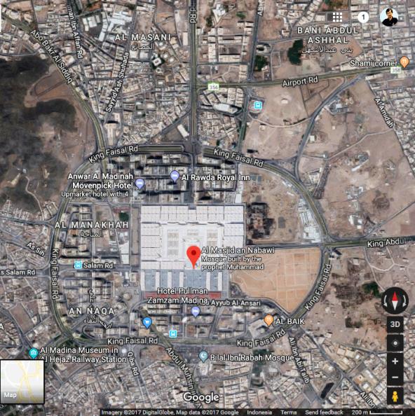 Al-Masjid an-Nabawi – Medina, Saudi Arabia-01