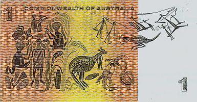 Australian_$1_note_paper_back