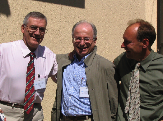 Cailliau_Abramatic_Berners-Lee_10_years_WWW_consortium