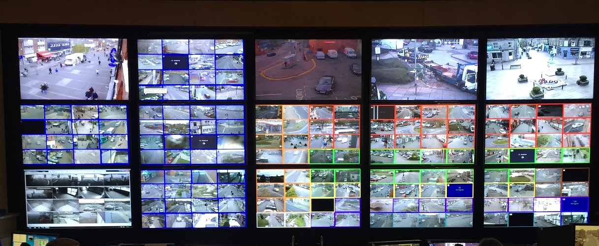 CCTV_control_room_monitor_wall