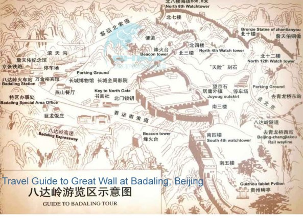 Great-Wall-Badaling-Map