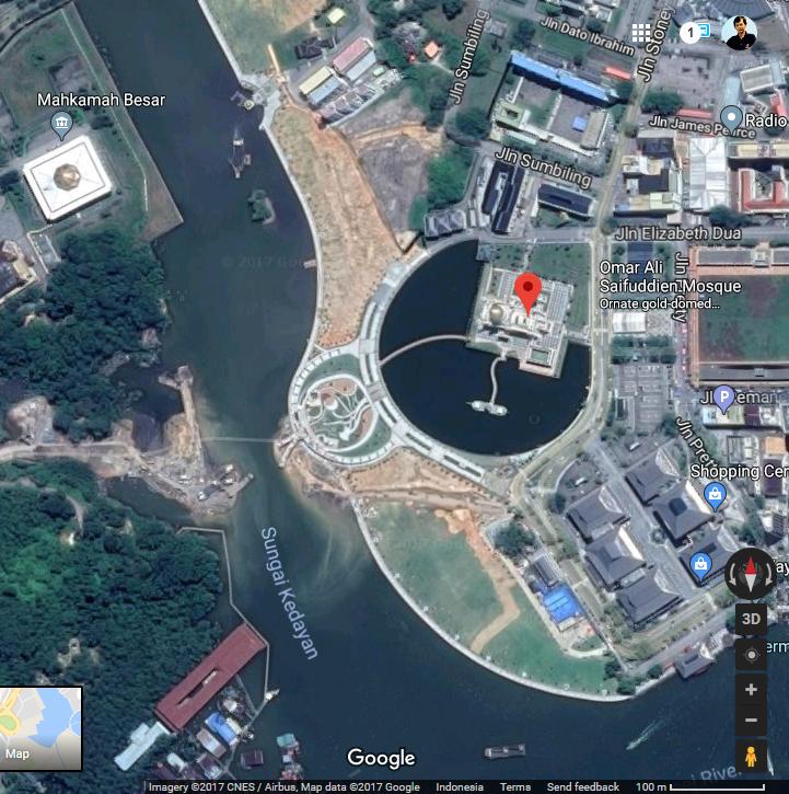 Sultan Omar Ali Saifuddin Mosque – Brunei-01